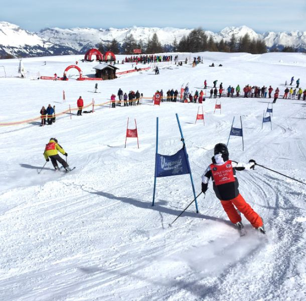 Take part in your first slalom with ESS Veysonnaz